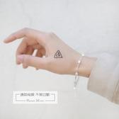日韓個性手工方塊雙層手鍊