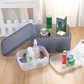 收納盒 分格收納盒 置物架 儲物盒 整理盒 防水收納盒 分隔收納盒 磨砂 分隔收納盒【R015】慢思行