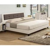 床組 5尺床片型床台 伯納德 406-2W 愛莎家居