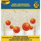 螺旋吊飾12入-籃球...