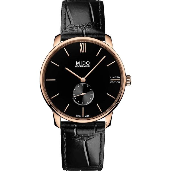 MIDO 美度 Baroncelli 永恆系列手上鍊小秒針限量腕錶(M0374053605000)