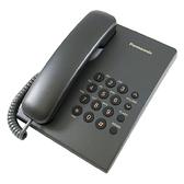 Panasonic 國際牌 KX-TS500 經典桌壁兩用有線電話(黑)