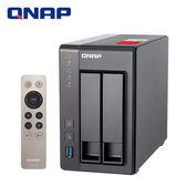 QNAP 威聯通 TS-251+ -2G 2Bay網路儲存伺服器