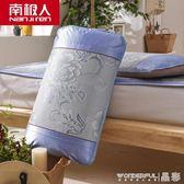 涼席枕套 夏季涼席枕套2個冰絲枕頭套枕芯套套子兩只 一對裝 晶彩生活