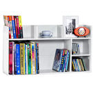 書架 桌上型【收納屋】純白桌上置物書架 &DIY組合傢俱