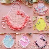 嬰兒肚兜夏季女寶寶純棉肚兜小公主蕾絲護肚圍韓版1-2歲0-3-6個月艾美時尚衣櫥