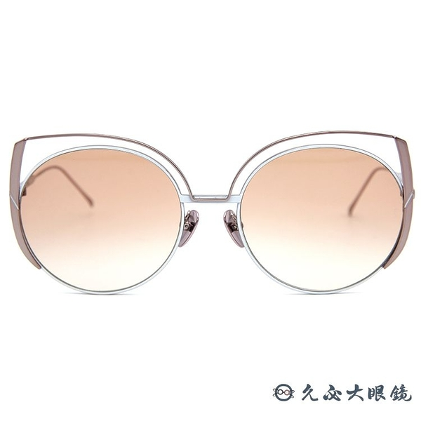 SUNDAY SOMEWHERE 太陽眼鏡 Daisy (玫瑰金) 貓眼 圓框 墨鏡 久必大眼鏡