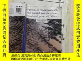 二手書博民逛書店DESIGNING罕見AND CONDUCTING HEALTH