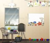 壁貼【橘果設計】海洋之星 DIY組合壁貼/牆貼/壁紙/客廳臥室浴室幼稚園室內設計裝潢