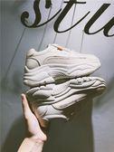 小白鞋新款秋季網紅火焰運動鞋女韓版ulzzang原宿百搭小白鞋老爹鞋 伊莎公主