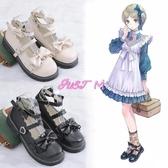 娃娃鞋女日系原創果泡甜心洛麗塔軟妹jk小皮鞋女蘿莉娃娃鞋 JUST M