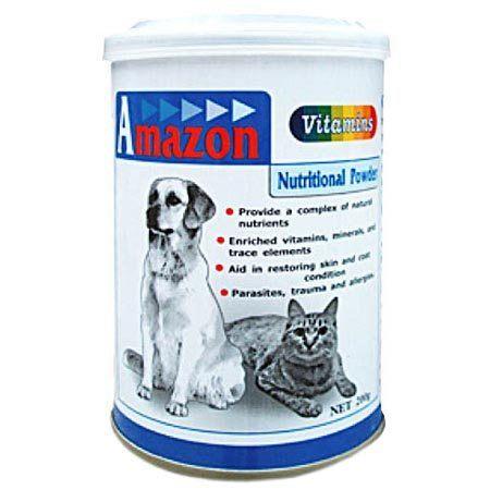 【培菓幸福寵物專營店】愛美康Amazon《犬貓專屬》綜合維他命(500g)