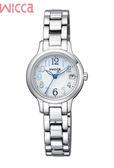 CITIZEN Wicca廣告款原廠公司(KH4-912-11) 少女系列太陽能腕錶24mm