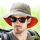 防曬帽漁夫帽子-戶外抗UV紫外線防潑水超...