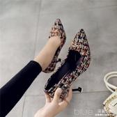 春秋鞋子歐美潮夏天小碼夏季高跟鞋女韓版百搭女士春季大 深藏blue