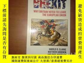 二手書博民逛書店Brexit:罕見Why Britain Voted to Le