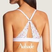 Aubade-BAHIA&MOI有機棉S-L美背無鋼圈內衣(花園)PY