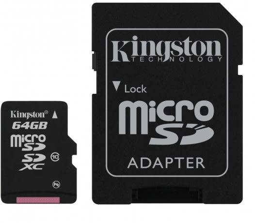 金士頓 Mircro SD記憶卡 64G
