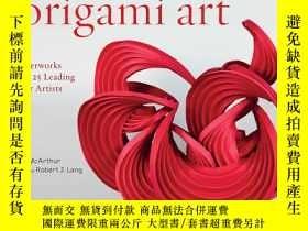 二手書博民逛書店New罕見Expressions in Origami Art