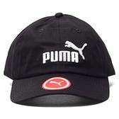 PUMA 黑 白 刺繡LOGO 棒球帽 老帽 可調 男女皆可戴 (布魯克林) 05291909