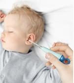 aag嬰兒耳勺 寶寶專用發光挖耳勺帶燈硅膠軟頭兒童扣耳掏耳朵神器JUSTM春季新品