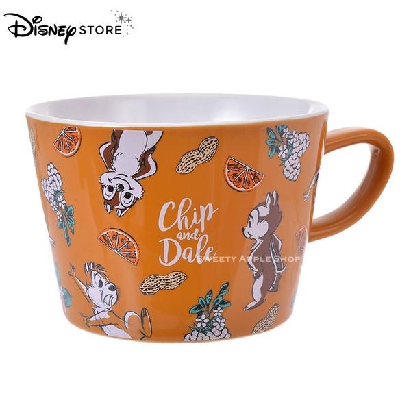 日本 DISNEY STORE 迪士尼商店限定 奇奇蒂蒂 素描版 馬克杯