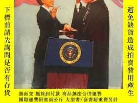 二手書博民逛書店The罕見Kid Who Became PresidentY194136