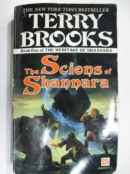 【書寶二手書T3/原文小說_BAZ】The Scions of Shannara_Terry Brooks