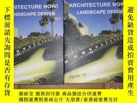二手書博民逛書店architecture罕見now! landscape design 1,2Y26321 yoyo yoyo