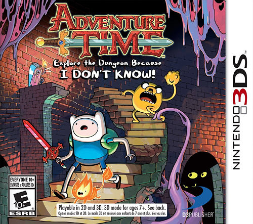 3DS Adventure Time: Explore the Dungeon Because I DON T KNOW! 探險活寶:探索地下城(美版代購)