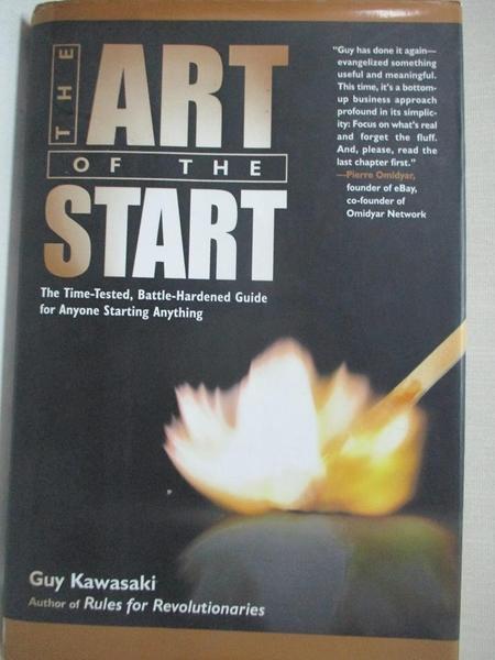【書寶二手書T1/設計_EMQ】The Art Of The Start: The Time-Tested, Battle-Hardened…