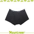 【Mountneer 山林 男 排汗開洞四角內褲《黑色》】11K77-01/透氣內褲/排汗內褲/四角褲