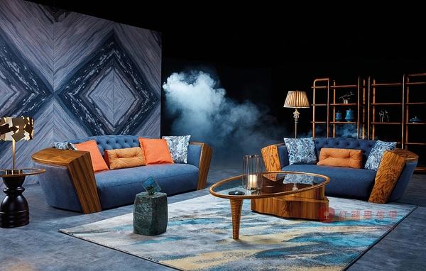 [紅蘋果傢俱] WJM-8039 烏金木系列 沙發 造型沙發 頂級全實木沙發 板椅 茶几