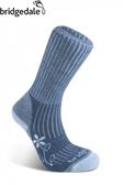 Bridgedale 英國 TK健行者 美麗諾-中厚 女 藍710 627 登山襪子 健行襪 排汗襪 保暖襪 [易遨遊]