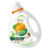 橘子工坊 低敏濃縮洗衣精1800ml【愛買】