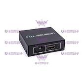 ◤大洋國際電子◢ 1.4版 HDMI分配器 一分二 1920*1200解析度 支援音訊輸出 0789
