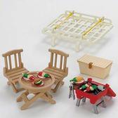 《森林家族-日版》家庭車野餐烤肉組 ╭★ JOYBUS玩具百貨