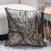 金葉樹林抱枕套45x45-生活工場