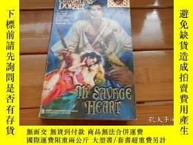 二手書博民逛書店MY罕見SAVAGE HEARTY19865 CHRISTINE