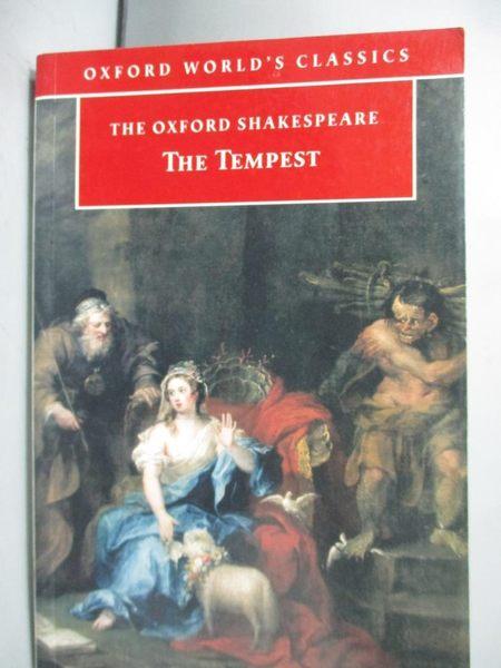 【書寶二手書T2/原文小說_GFL】The tempest_Shakespeare, William/ Orgel, S