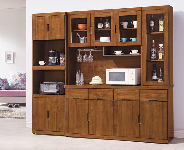 【森可家居】凱西柚木2尺收納櫃 7HY427-1 高廚房餐櫃 木紋質感 美式鄉村風