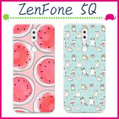 Asus ZenFone 5Q 6吋 ZC600KL 時尚彩繪手機殼 卡通保護套 可愛塗鴉手機套 TPU背蓋 輕薄保護殼