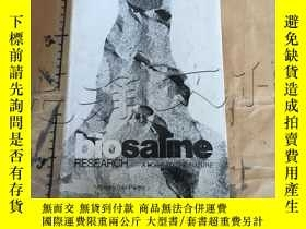 二手書博民逛書店Biosaline罕見Research: A Look to t