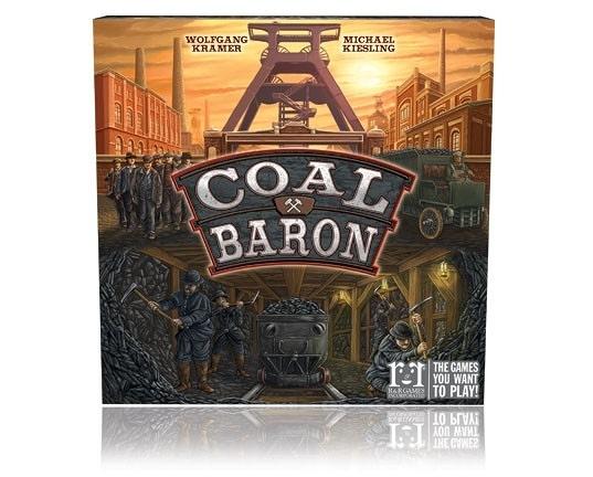 [KANGA GAMES] 煤礦大亨 Coal Baron #R&R Games  家庭策略桌上遊戲
