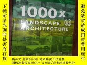二手書博民逛書店1000x罕見LANDSCAPE ARCHITECTURE 2.