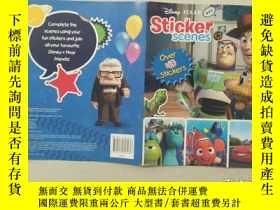 二手書博民逛書店Sticker罕見ScenesY332659