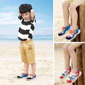 男童涼鞋 包頭童鞋防滑兒童1-2-3歲4男寶寶鞋