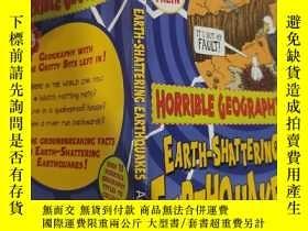 二手書博民逛書店horrible罕見shattering earthquakes 可怕的地震..Y200392