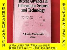 二手書博民逛書店Recent罕見Advances In Information Science And Technology【大3