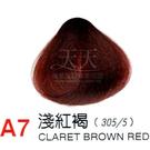 【燙後染髮】奇靈鳥 二代染髮劑 A7-淺紅褐色 [66472]